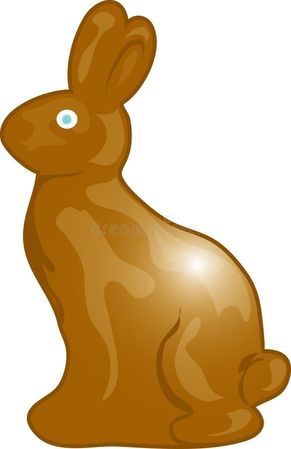 Chocolate bunny royalty free stock image