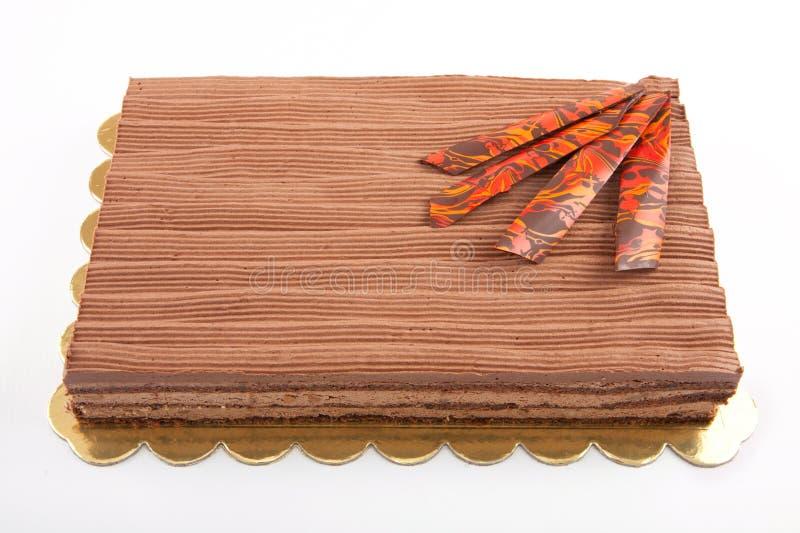 Chocolate Cack foto de stock