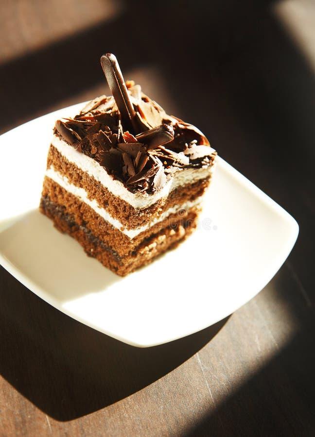 Chocolate cake stock images
