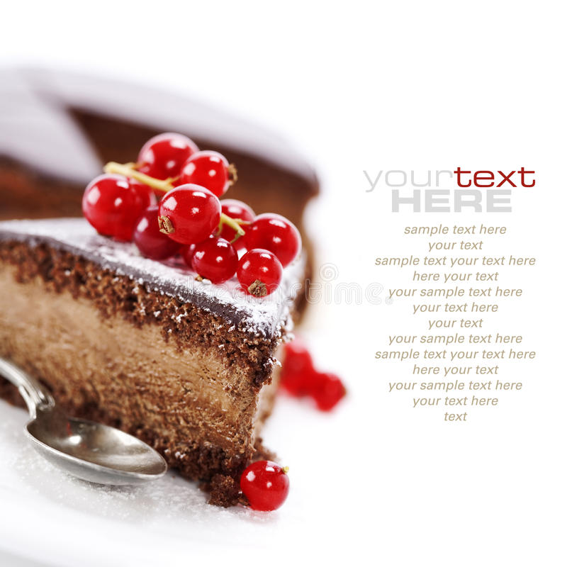 Free Chocolate Cake Stock Photo - 17975530