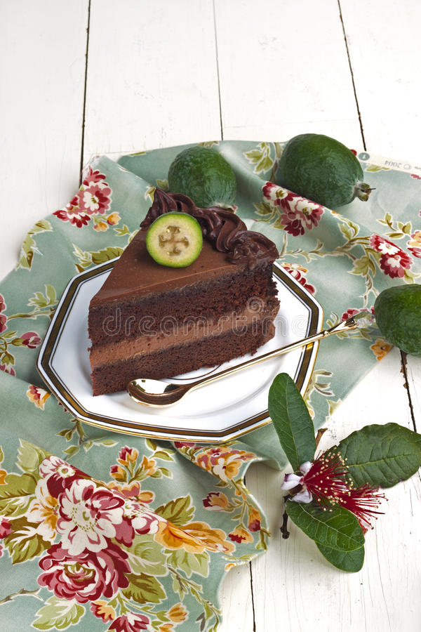Download Chocolate cake stock image. Image of style, rustic, mousse - 18947041