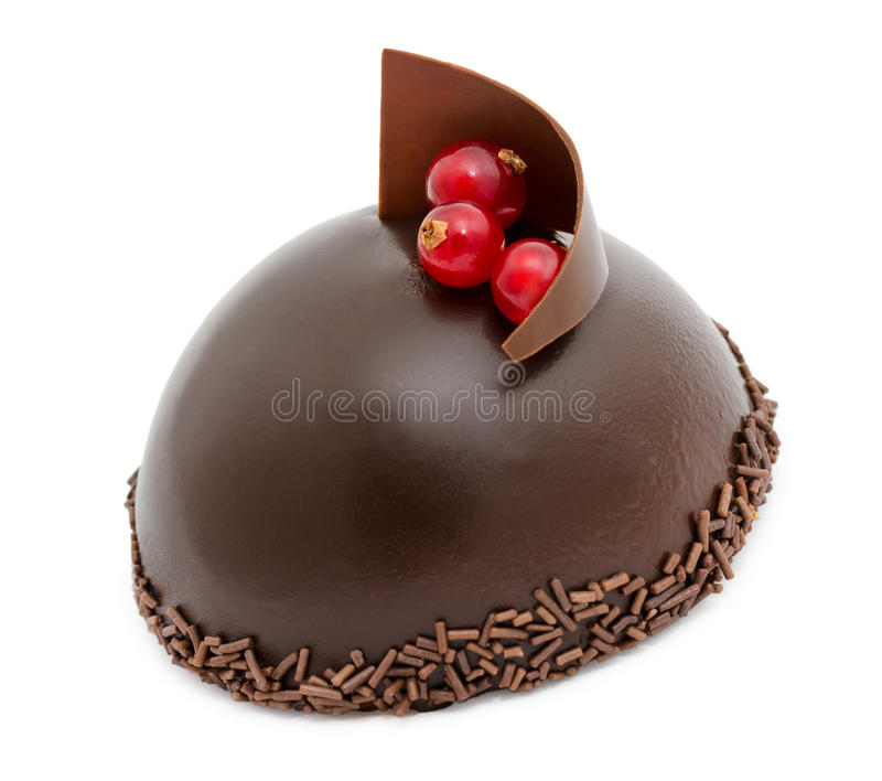 Download Chocolate cake stock photo. Image of pastry, hemisphere - 24605868
