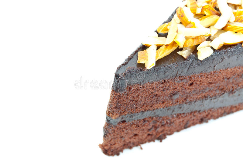 Download Chocolate cake. stock photo. Image of cooking, brown - 26217220