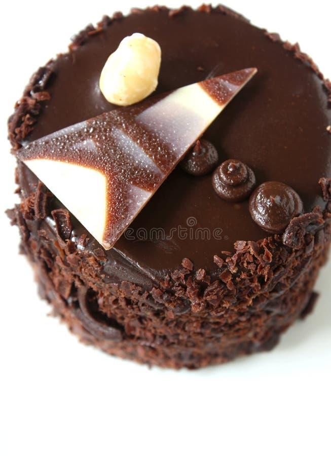 Download Chocolate Cake stock image. Image of treat, bakery, hazelnut - 26549475