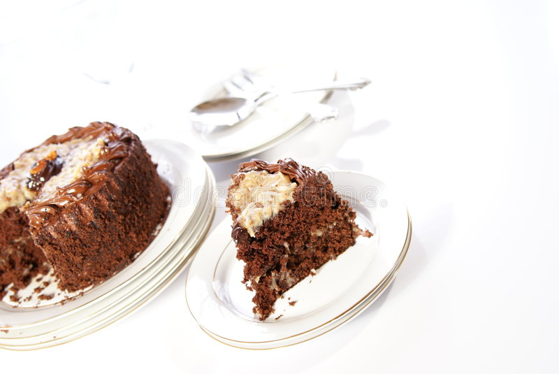 Download Chocolate Cake stock photo. Image of double, meal, dessert - 4010680