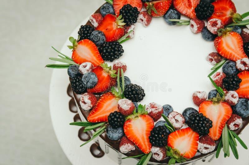 Excellent Happy Birthday Fresh Fruit Cake Stock Photos Download 2 826 Personalised Birthday Cards Veneteletsinfo