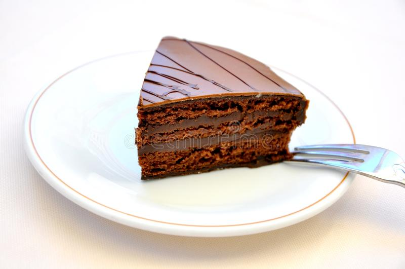 Download Chocolate Cake Temptation Concept .confort Food Stock Photography - Image: 19918862