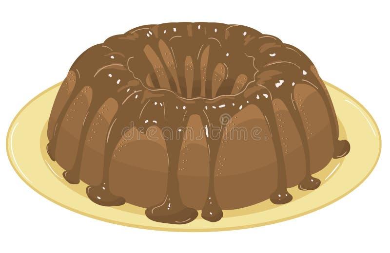 Download Chocolate Cake. Vector Illustration Stock Vector - Illustration: 19481147
