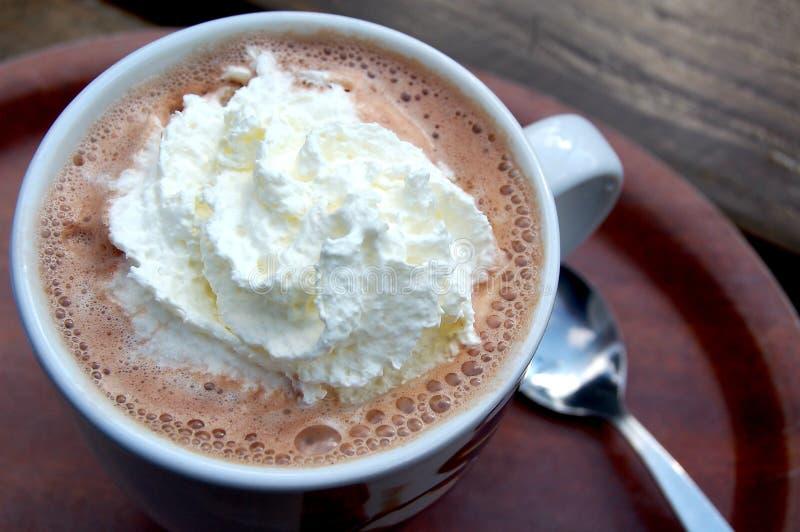 Chocolate caliente fotografía de archivo