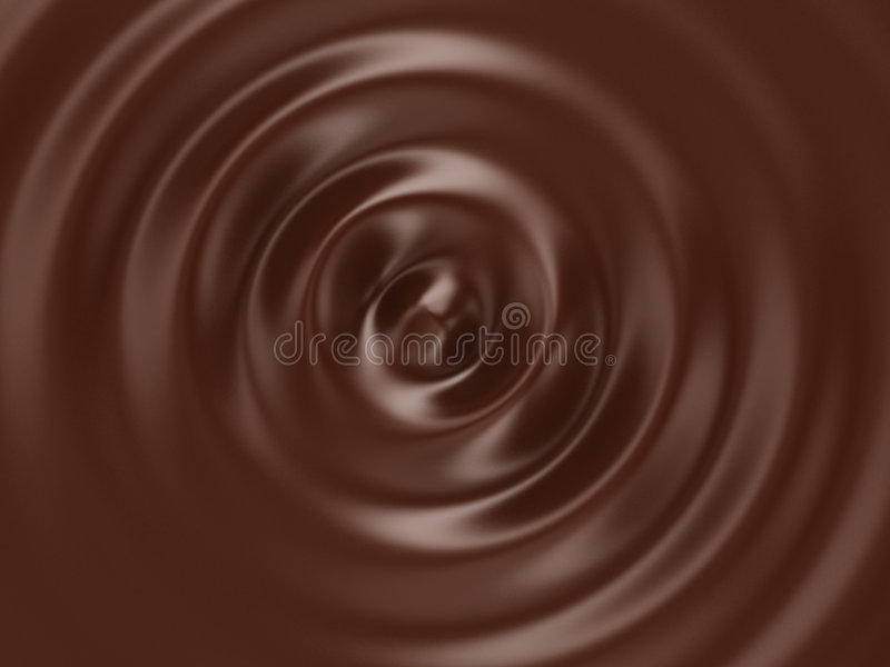 Chocolate caliente stock de ilustración