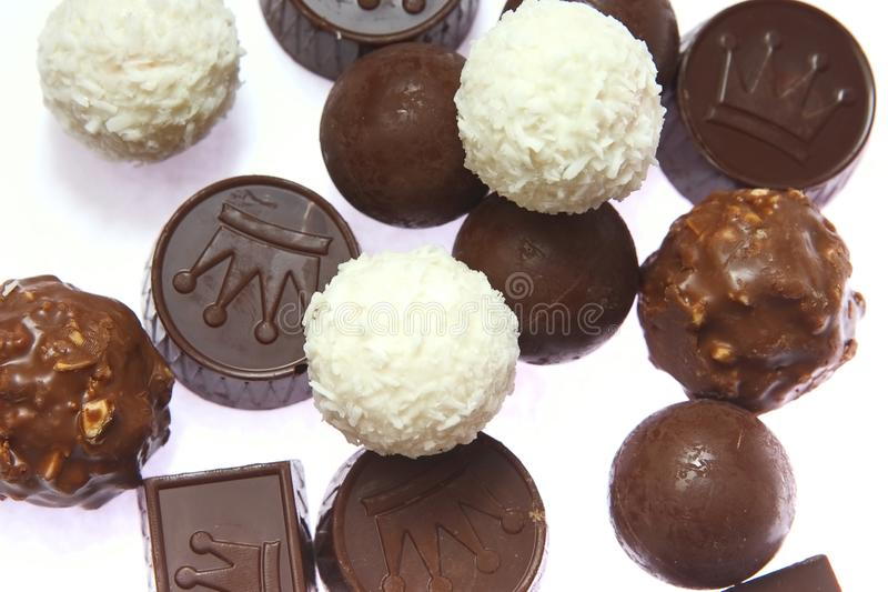 Download Chocolate candies stock image. Image of backgrounds, dessert - 1910065