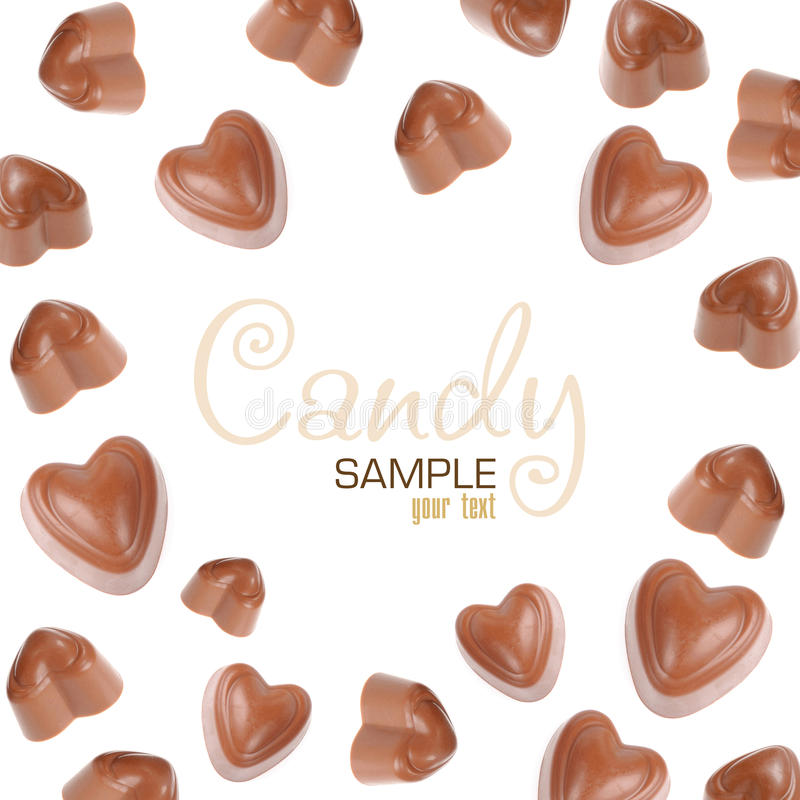 Chocolate candy stock images