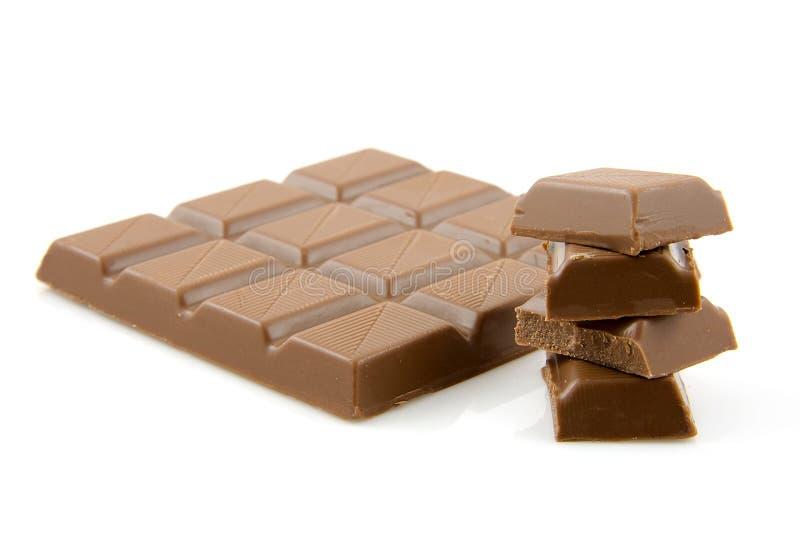 Chocolate candy bar royalty free stock photo