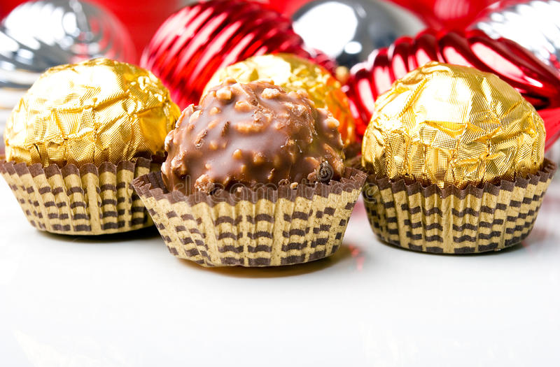 Download Chocolate Candy Treats Christmas New Year Holiday Stock Photo - Image: 12010712