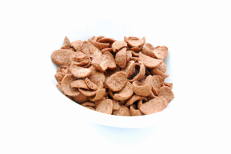 Download Chocolate cereals stock image. Image of delicious, against - 10973373
