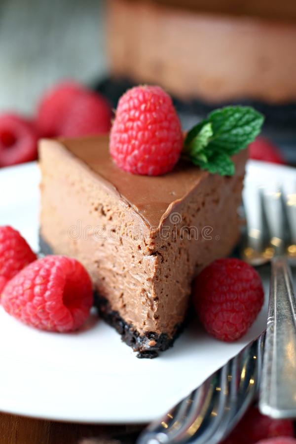 Free Chocolate Cheesecake Royalty Free Stock Images - 101885119