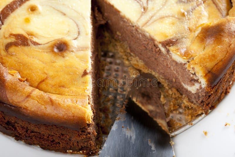 Chocolate Cheesecake Royalty Free Stock Photos