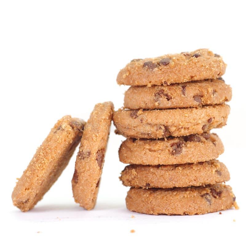 Download Chocolate Chip Cookie foto de archivo. Imagen de fondo - 41905142