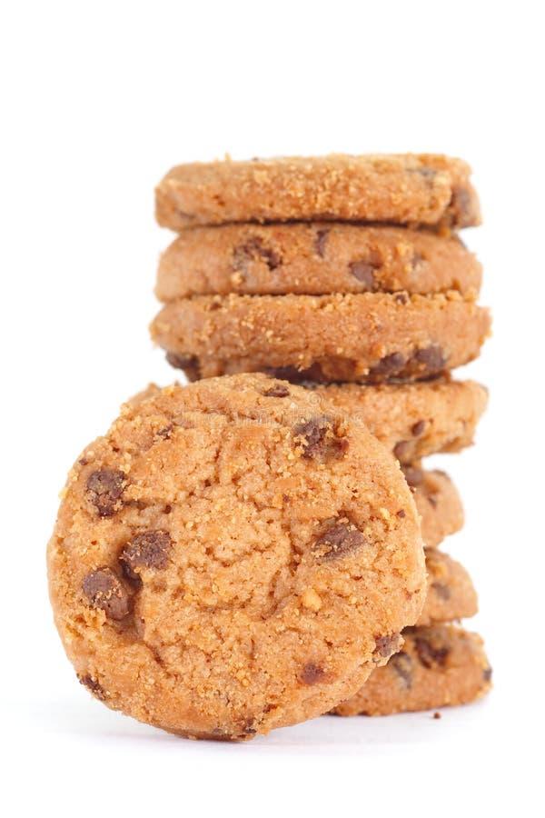 Download Chocolate Chip Cookie imagen de archivo. Imagen de pila - 41905163