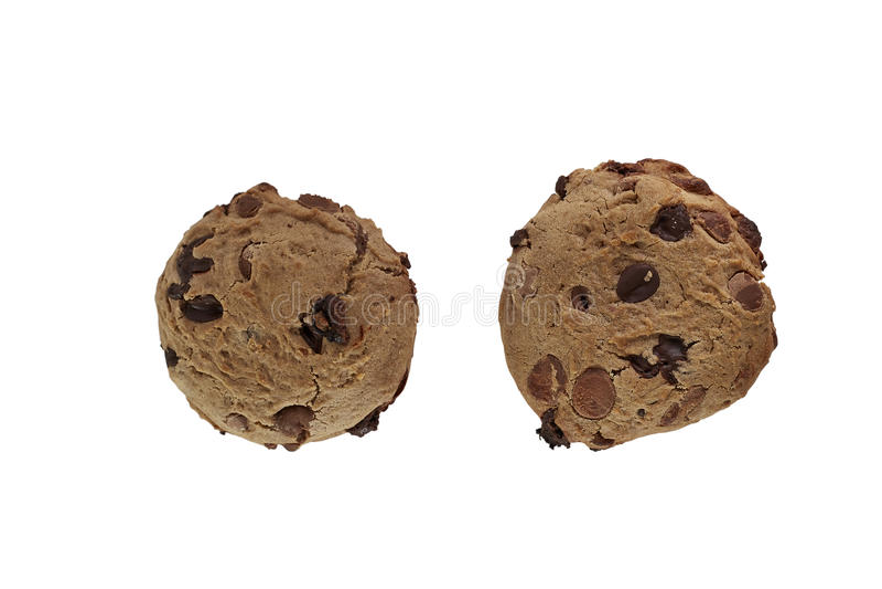 Chocolate Chip Cookie foto de archivo
