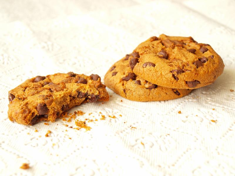 Chocolate Chip  Cookies Free Stock Images