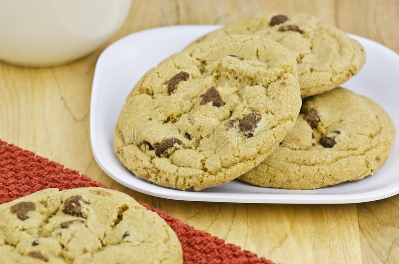 Download Chocolate Chip Cookies Stock Photos - Image: 26640893