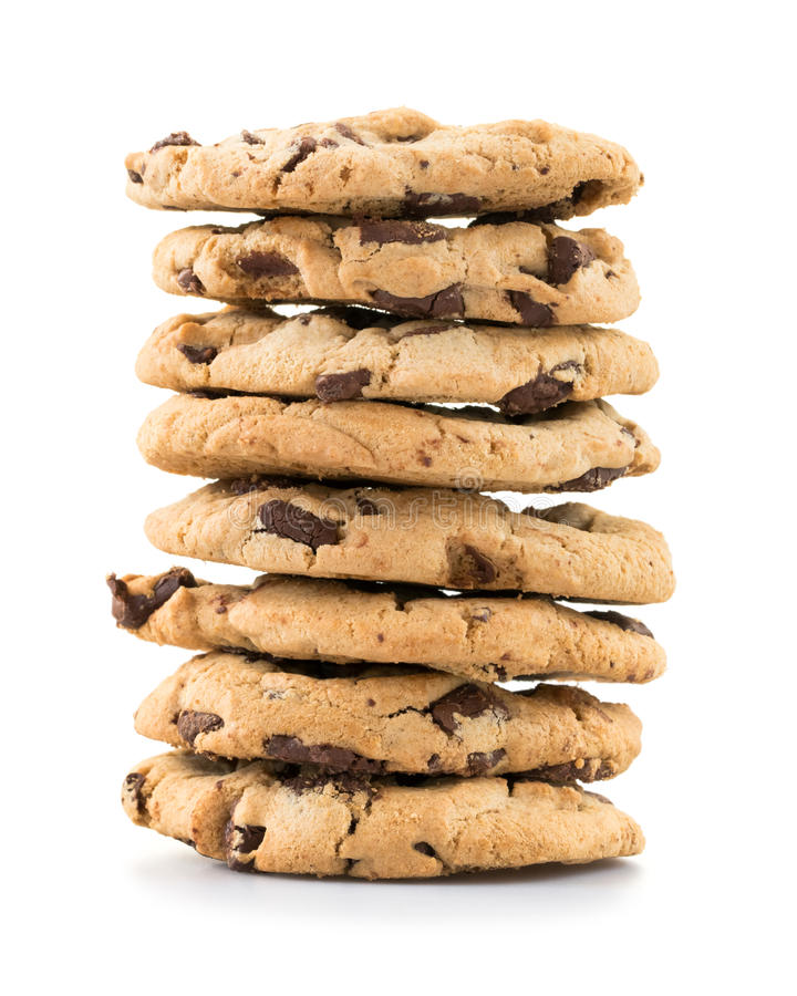 Free Chocolate Chip Cookies Royalty Free Stock Images - 55955499