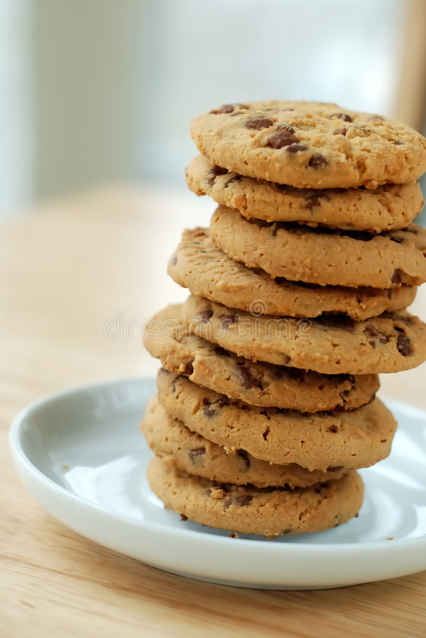 Free Chocolate Chip Cookies Royalty Free Stock Image - 7876786