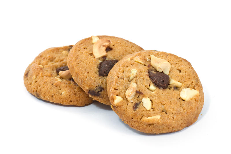 Download Chocolate Chip Cookies stock image. Image of stacked - 39507919