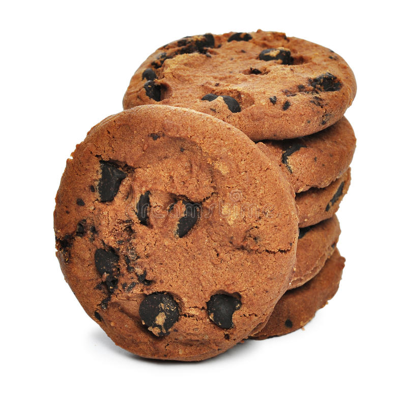 Download Chocolate chips cookies stock image. Image of breakfast - 29168741