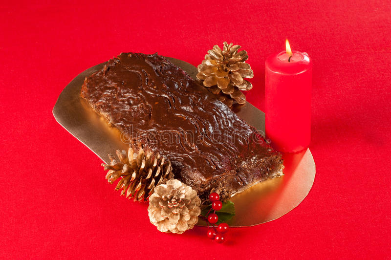 Download Chocolate Christmas cake stock image. Image of baked - 26533441