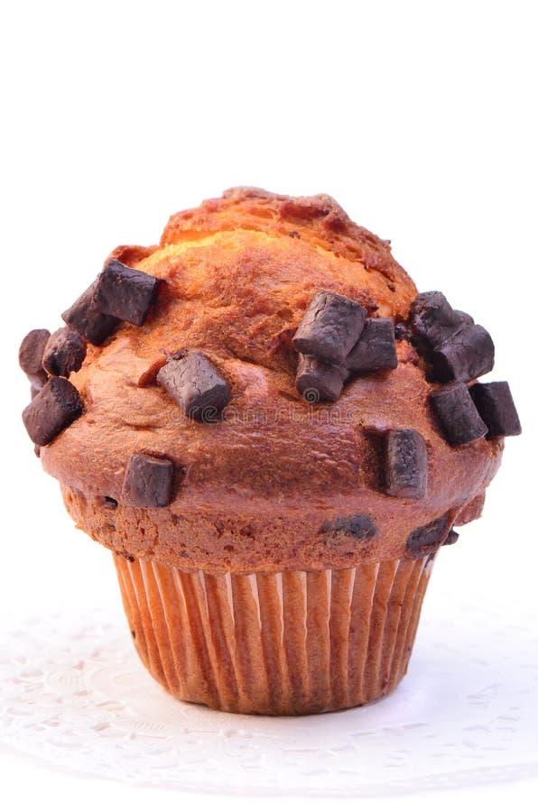 Download Chocolate chunk muffin stock image. Image of jumbo, extra - 32096339