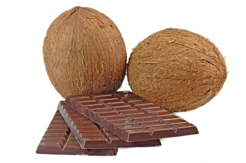 Download Chocolate with coconut stock photo. Image of sweet, shell - 4300322