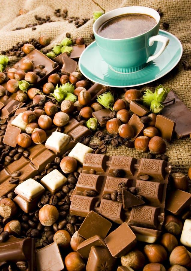 Free Chocolate & Coffee Royalty Free Stock Photos - 2868898