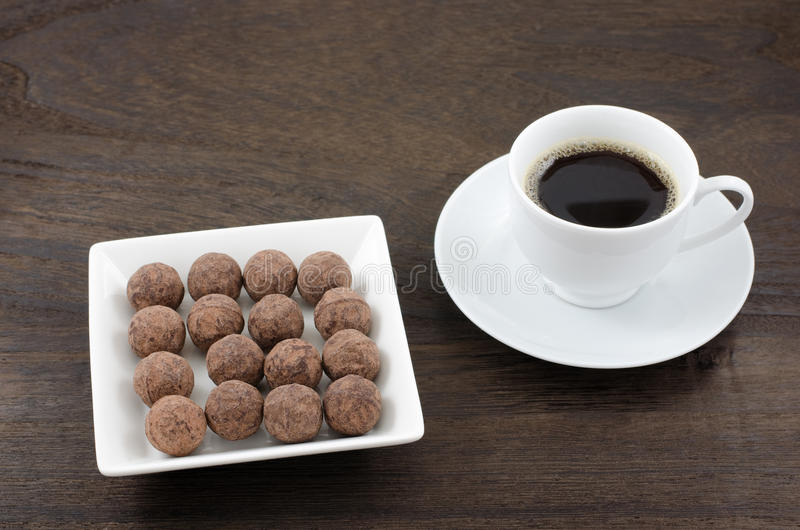 Download Chocolate and coffee stock image. Image of drink, sweets - 28871789
