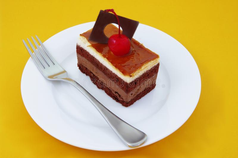 Download Chocolate Coffee Cake Royalty Free Stock Image - Image: 12930816