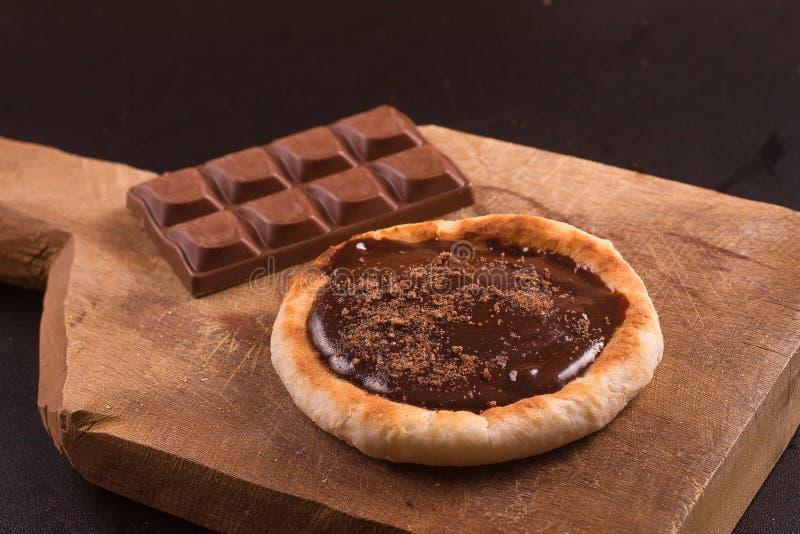 Chocolate con leche Sfiha fotografía de archivo