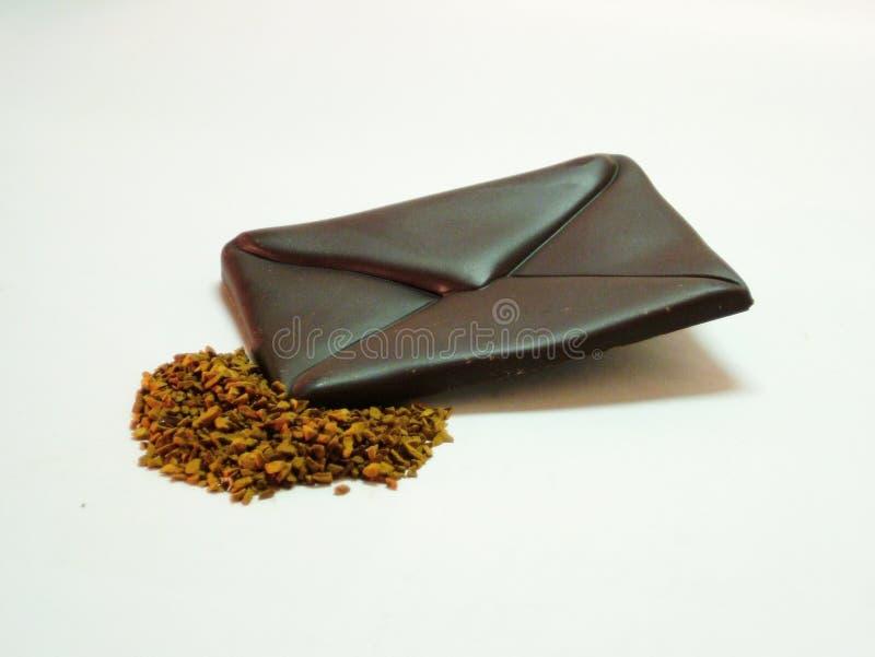 Chocolate - correio fotos de stock