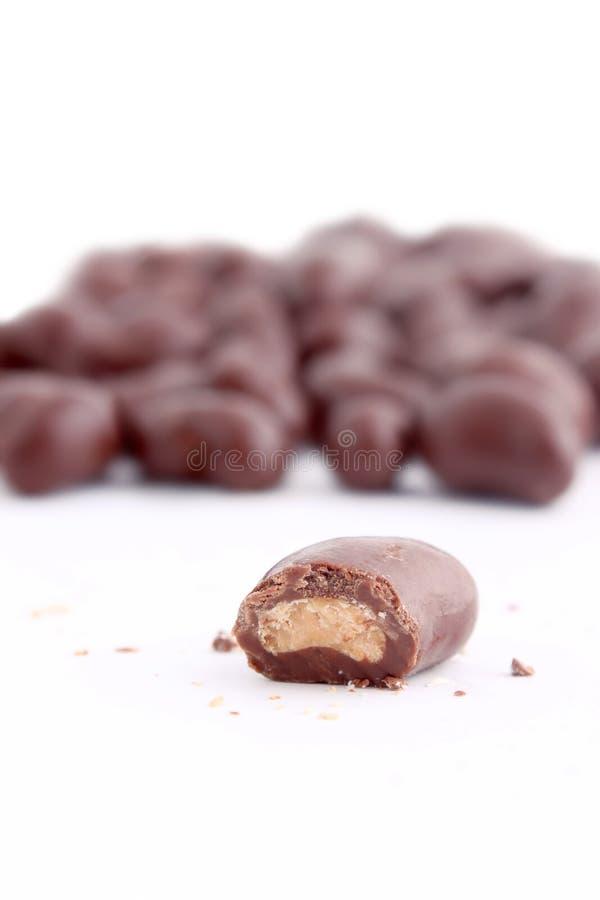 Chocolate Covered Cashews Stock Image Image Of Pile