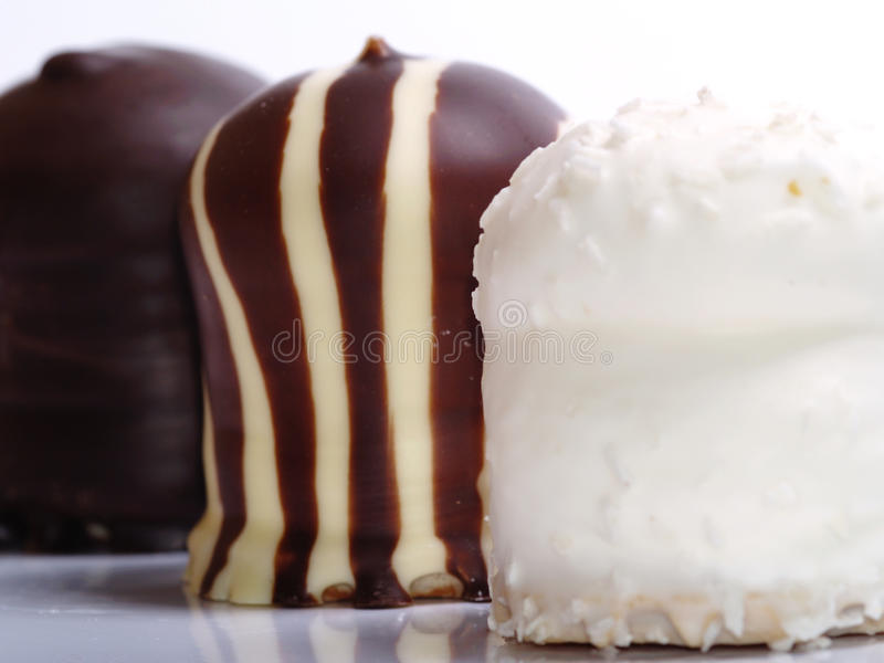 Download Chocolate Covered Meringue Confection Stock Image - Image: 11754891