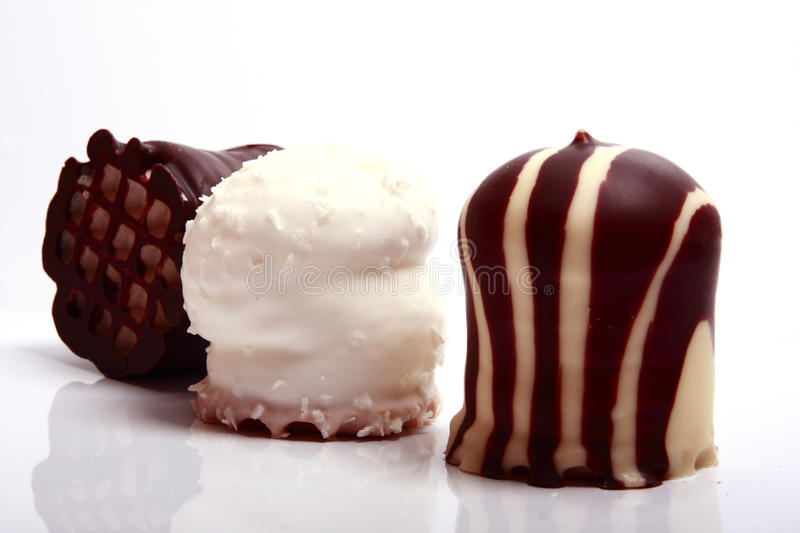 Chocolate Covered Meringue Confection Stock Photography ...