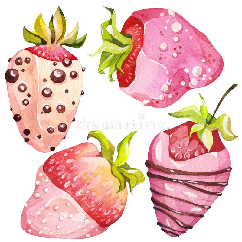Chocolate Covered Strawberries Stock Illustrations 219 Chocolate Covered Strawberries Stock Illustrations Vectors Clipart Dreamstime