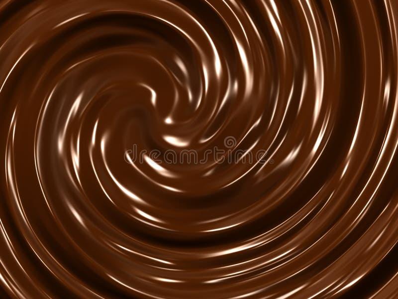 Download Chocolate cream background stock illustration. Image of chocolate - 13115219