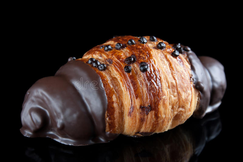 Download Chocolate Croissant Isolated Stock Image - Image: 25385151