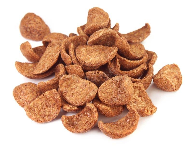 Chocolate Crunchy Cookies Stock Image