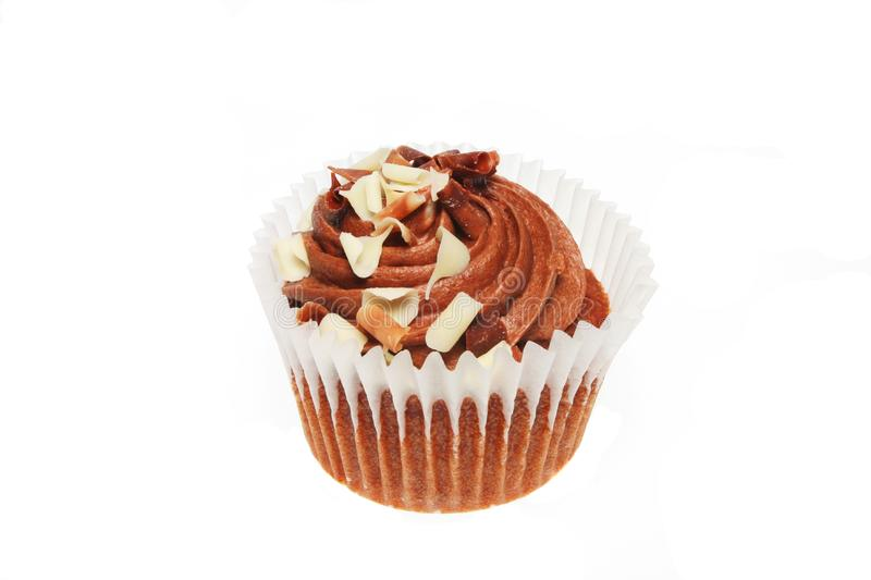 Chocolate Cup Cake Stock Image