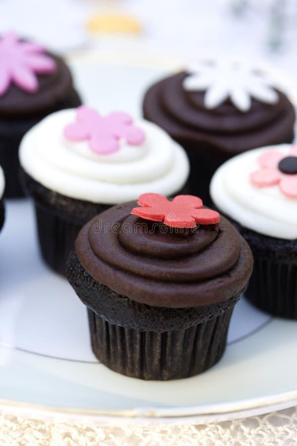 Download Chocolate Cupcakes stock photo. Image of dessert, cake - 10347308