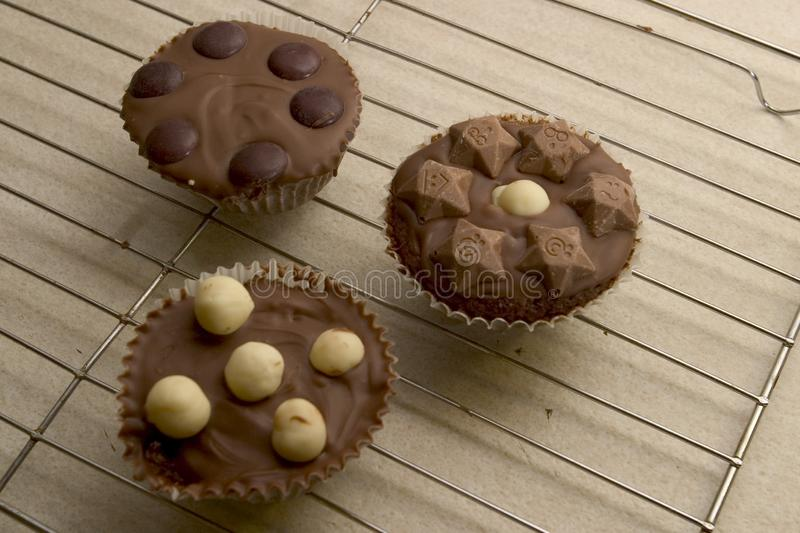 Download Chocolate Cupcakes stock photo. Image of kids, cake, cookery - 58864