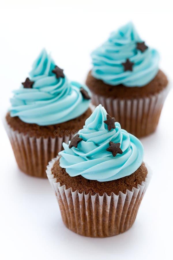 chocolate cupcakes στοκ φωτογραφία με δικαίωμα ελεύθερης χρήσης