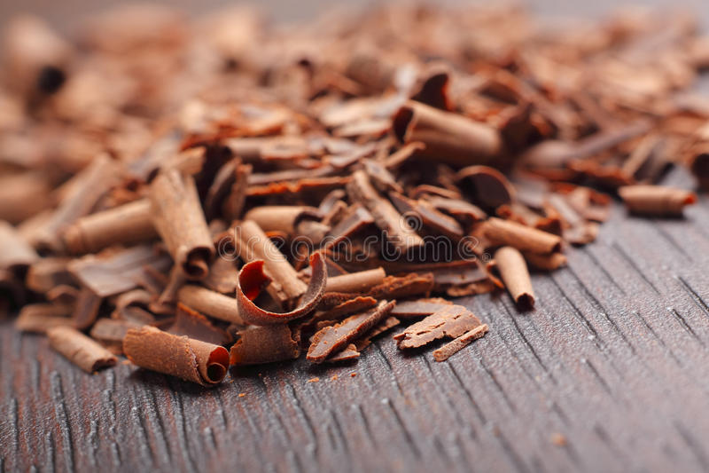 Download Chocolate curls stock image. Image of confectionery, shallow - 16456607